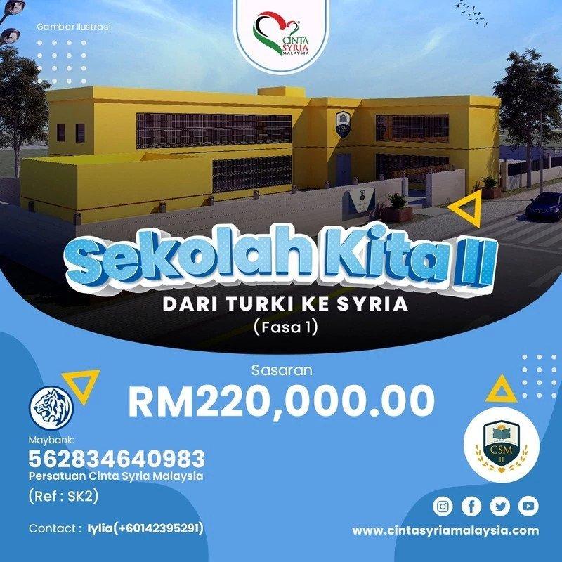 Sekolah Kita II – Dari Turki ke Syria (Fasa 1)
